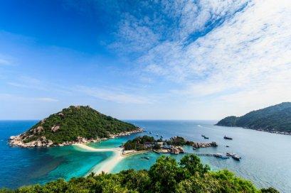 One Day Trip Koh Tao & Koh Nangyuan by Catamaran (Start Chumphon)