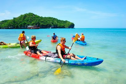 One Day Trip Koh Tao & Koh Nangyuan by Catamaran (Start Samui)