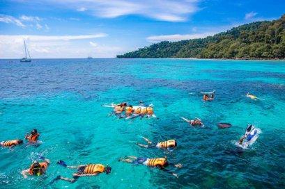 One Day Trip Rok Island - Haa Island from Khao Lak