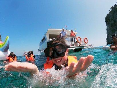 Rok Island by Speed Boat