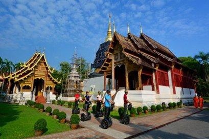 Segway Chiang Mai City Tour and Zipline Eco-Adventure Canopy Tour