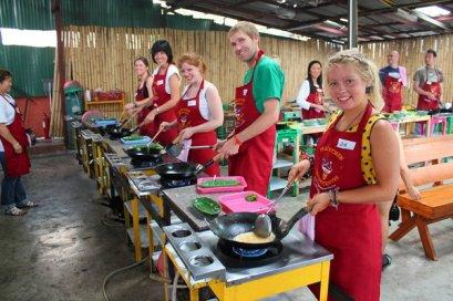 泰式烹飪課程半天课程晚间 Thai Kitchen Cookery Centre