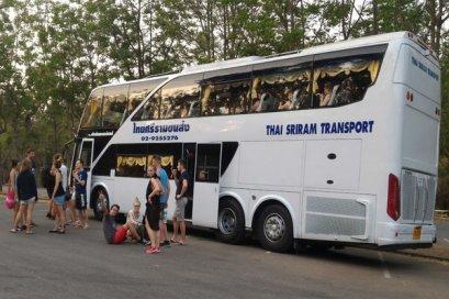 Bus from Chiang Mai - Bangkok