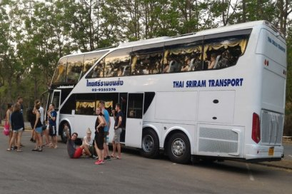 Bus from Chiang Mai - Bangkok