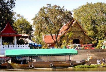 港口乘船游览湄萍河 (Maeping River Cruise) + 泰北咖喱面条