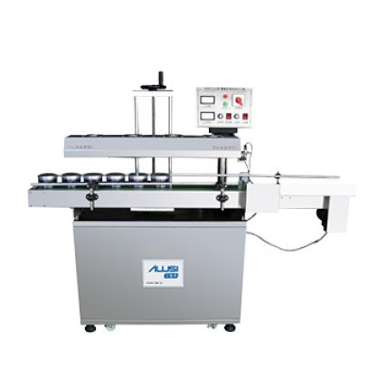 Electromagnetic induction type aluminum foil sealing machine
