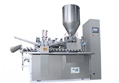 Automatic metal/aluminium tube filling and sealing machine