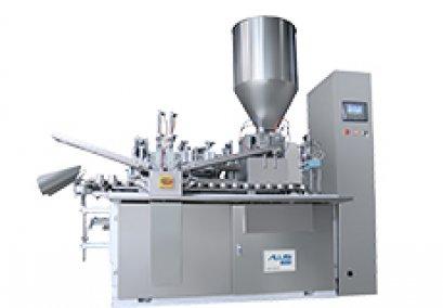 Automatic metal/aluminium tube filling and sealing machine
