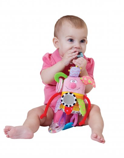 Taftoys Kooky Girl ตุ๊กตาผู้หญิงสีสันสดใสห้อยรถเข็น