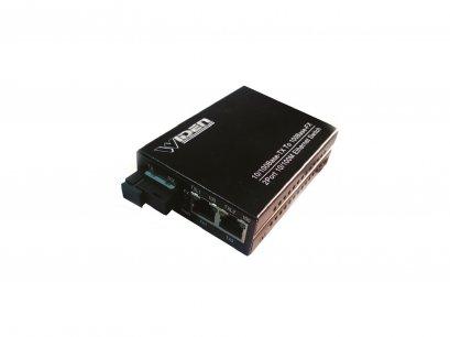WDM Media Converter 10/100 Single Mode ,2 Port RJ45 ยี่ห้อ WIDEN