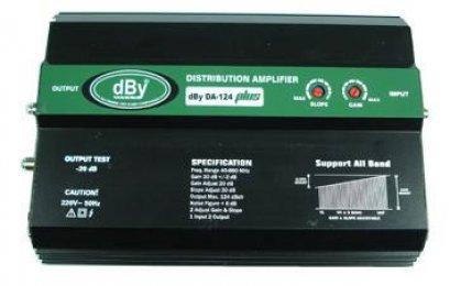 ตัวขยายสัญญาณ BOOSTER DA124PLUS ยี่ห้อ LEOTECH (dBy)