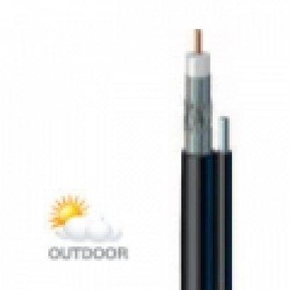 สายนำสัญญาณรุ่น LT1190BVMT  สีดำ มีสลิง ยี่ห้อ LEOTECH (dBy)