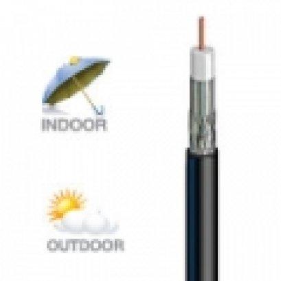 สายนำสัญญาณรุ่น LT1190BV  สีดำ ยี่ห้อ LEOTECH (dBy)