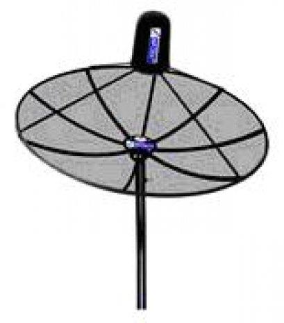 หน้าตานดาวเทียม INFOSAT  8 ฟุต (4ชิ้น)