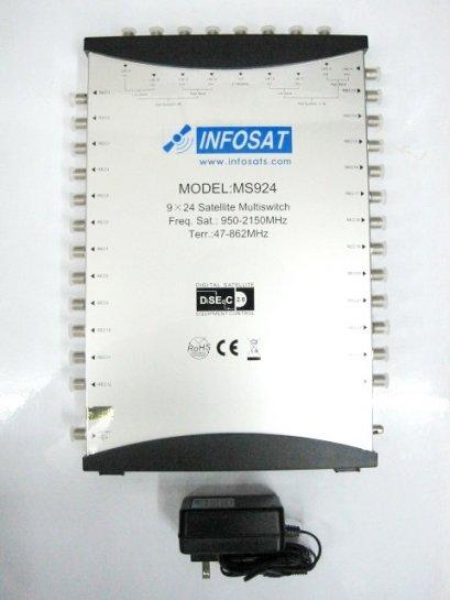 อุปกรณ์ตัดต่อรุ่น INF 8x24 ยี่ห้อ INFOSAT
