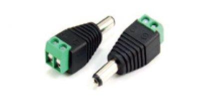 Connector หัวแจ็ค DC ตัวผู้ ยี่ห้อ LEOTECH (dBy)
