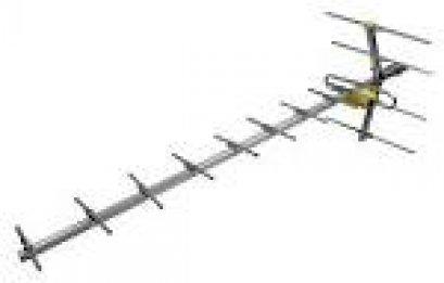 เสารับสัญญาณภายนอกยี่ห้อ MACSTAR รุ่น UHF 14 E