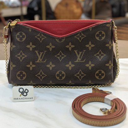 Used​ -​ Louis​Vuitton​ Pallas Clutch​ Size​ : 8 Serial​ CA0168