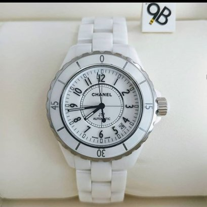 Chanel J12 White Ceramic GMT Automatic