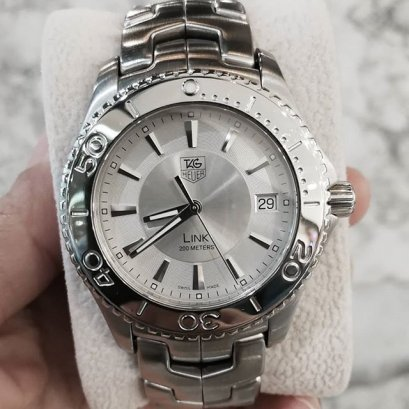 Tag Heuer Link Quartz Stanless Steel Dial Silver