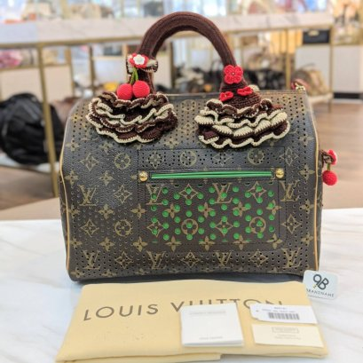 Used Like​ New​ - Louis​Vuitton​ Speedy​ ฉลุ