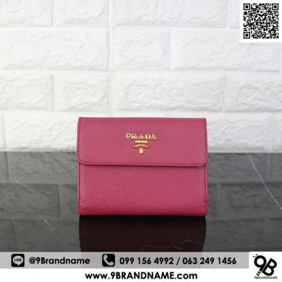 Prada Short Wallet Fushia
