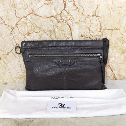 Balenciaga Clutch Brown - Used Authentic Bag