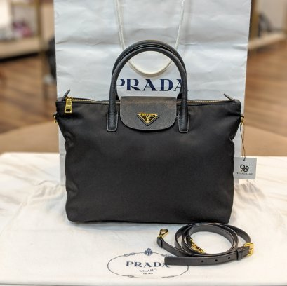 Used​ -​ Prada Crossbody​ Tessuto​ Black