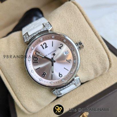 Louis Vuitton Watch Steel Pink