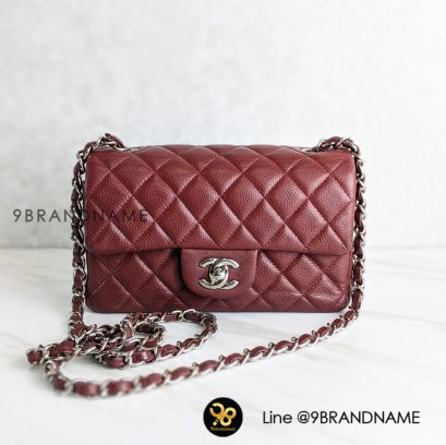 Used​ -​ Chanel Caviar​ SHW​ Classic​ Mini​8