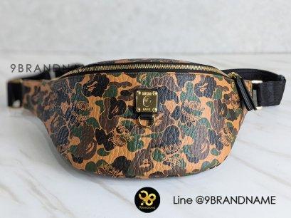 Used: - MCM X Bapestark Belt Bag Medium GHW