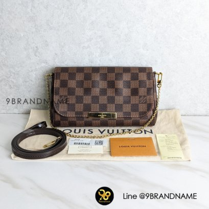 Used​- Louis​Vuitton Favorite​ Damier​ PM