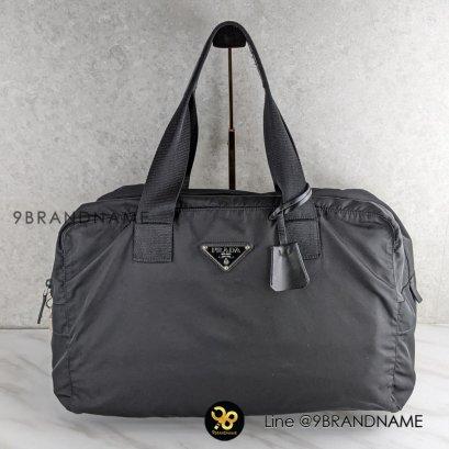 prada กระเป๋าเดินทาง Tessuto สีดำSize 40.5 cm