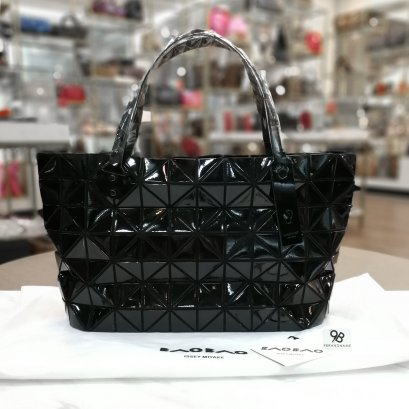 In Stock​ - Issey Miyake Bao Bao rock 12x7 Shoulder Bag Black Color