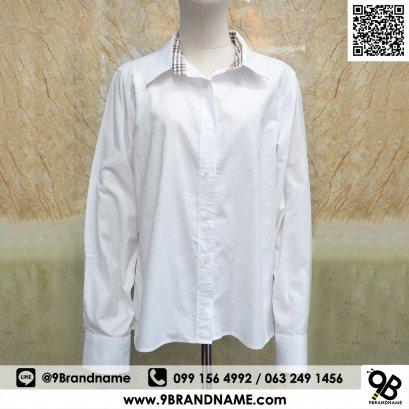 Burberry Brit Men's Henry Slim Fit Dress Shirt Size 48  White Color