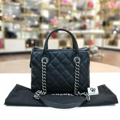 Used - Chanel Handbag Shoulder 31 rue cambon chain tote bag 2015