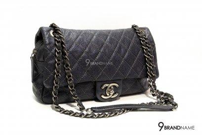 Chanel Easy Black Cavier SHW Size 10