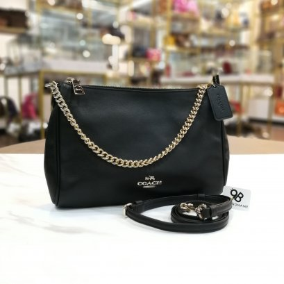 Coach Carrie Crossbody Black Color GHW