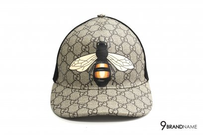 Gucci hats & caps Bee print GG Supreme baseball hat