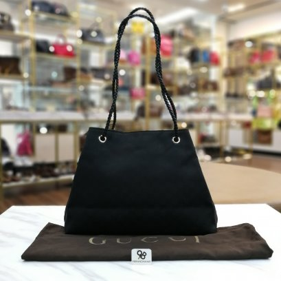 Gucci Gifford Tote​ GG Bag​ Black 419689 525040