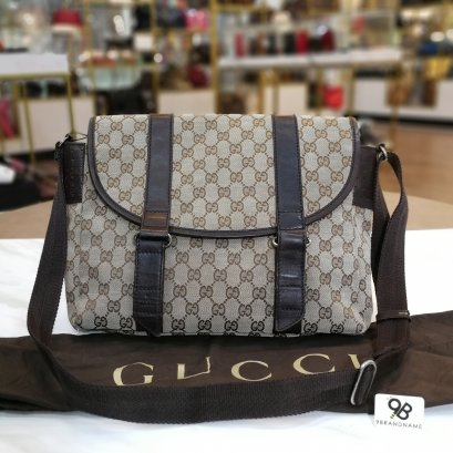 Gucci Messenger Bag 145859 Brown Shoulder Bag