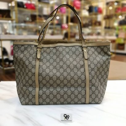 Used Like​ New ​- Gucci Nice Tote​ GG Bag​ Canvas​ Brown