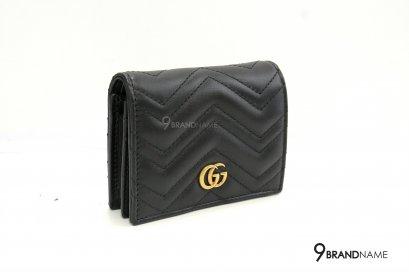 Gucci GG Marmont card case Black
