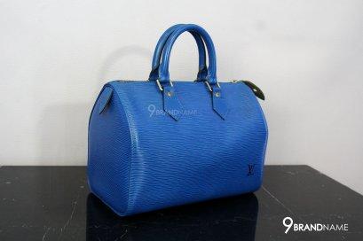 Louis Vuitton Speedy Blue Epi Size 30 GHW