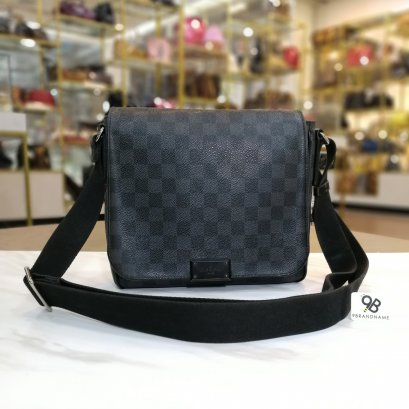 Used - Louis Vuitton District PM Damier Graphite