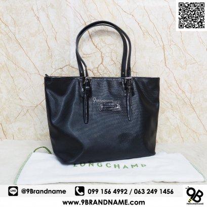 Longchamp Sholder Bag Black PVC