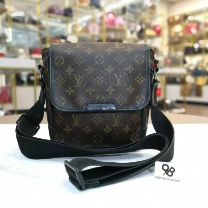 Used - Louis​ Vuitton​ Monogram​ Macassar​ Bass PM​ Canvas​