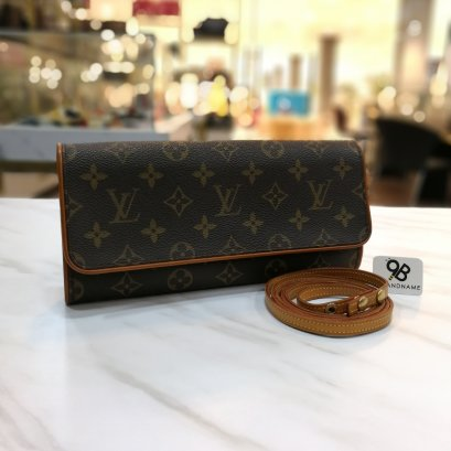 Louis​ Vuitton​ Pochette​ Florenting​ Monogram​ Canvas