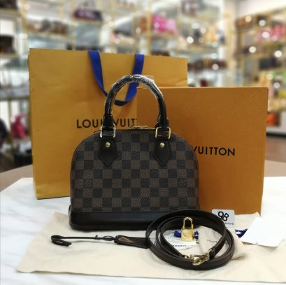 Louis Vuitton Damier Alma BB Cross Body Handbag N41221