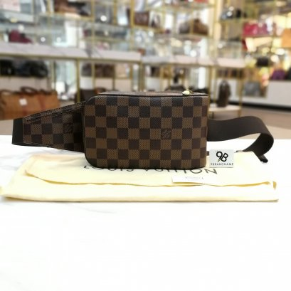 Used Like​New​ - Louis Vuitton Geronimos​ Damier​ ​Ebene​Canvas ปี​ 2012